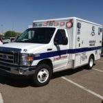 One person injured after two-vehicle collision at Eagle Ranch and Coors