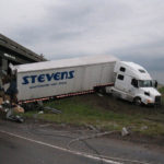 Deming, NM: Overturned Semi-Truck Shuts Down I-10