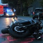 San Miguel County, NM: State Police Officer Hospitalized After Motorcycle Crash