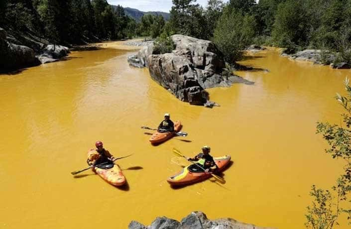 Toxic water released from Gold King Mine in Southern Colorado